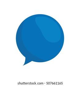 speech bubble message isolated icon vector illustration design