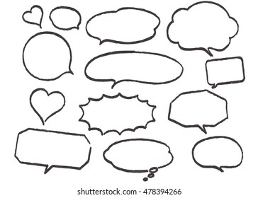 speech bubble natural