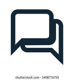 Speech bubbles, chat with call, chat icon