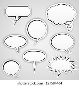 Speech Bubbles Collection | EPS10 Vector
