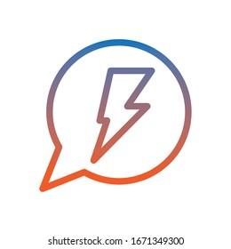 speech bubbles message isolated icon vector illustration design