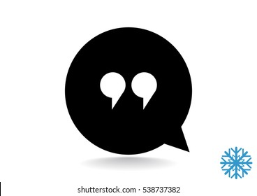 Speech icon Vector.