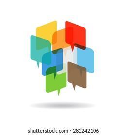 Speeches logo