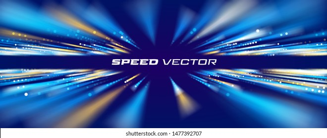 Speed connection vector background. Database data transfer
