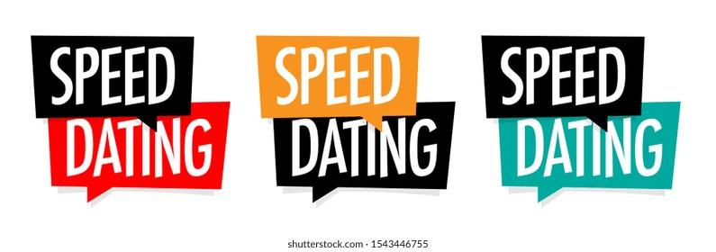 Speed dating on speech bubble