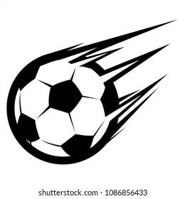 speed football , soccer vector icon