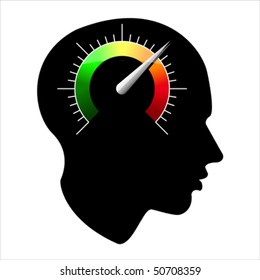 speed of the human mind, vector