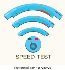 speed internet test, wifi.