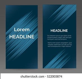 Speed lines vector abstract business background for brochure or flyer