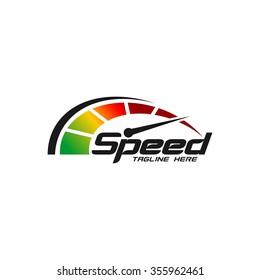Speed logo Template