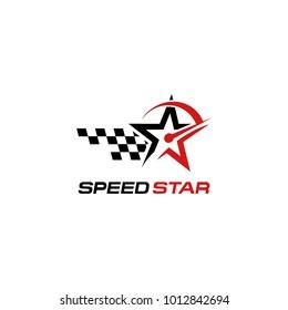 Speed logo. Logo template vector