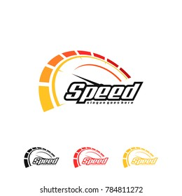 Speed logo. Vector art.
