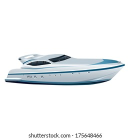 speed luxury yacht