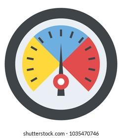 Speed metering or rating meter dashboard