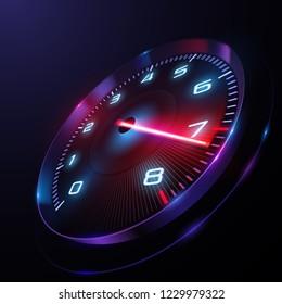 Speed motion background