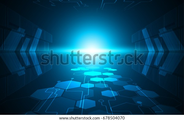 speed tunnel connection networking concept design background