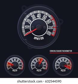 Speedometer Console Gauge Tachometer