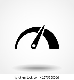speedometer icon - car sign