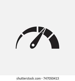 speedometer, icon, Eps10