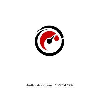 Speedometer logo icon