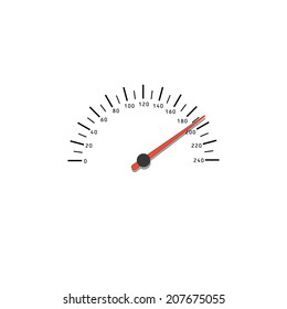 speedometer. vector eps10
