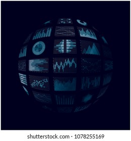 Spherical graph and Chart
