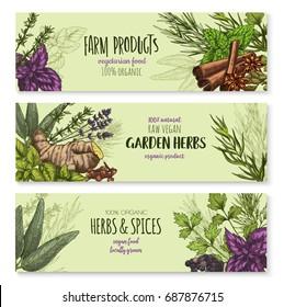 Herbal Banner Images Stock Photos Vectors Shutterstock