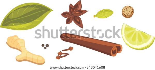 spices-masala-tea-vector-600w-343041608.