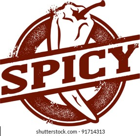 Spicy Chili Pepper Stamp