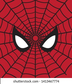 Spider man far from home avengers vector mask