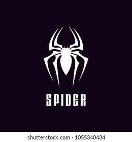 Spider Man Insect Arthropod symbol logo design  silhouette