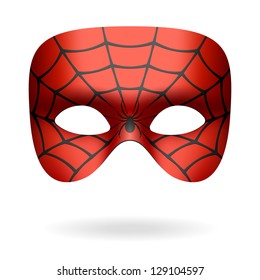 Spider mask. Vector.