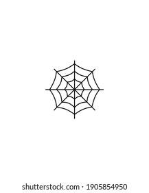 spider net icon,vector best line icon.