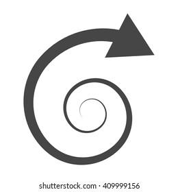 Spiral Arrow Images, Stock Photos & Vectors | Shutterstock