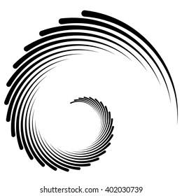 Spiral, vortex, swirl shape(s). Abstract element(s).