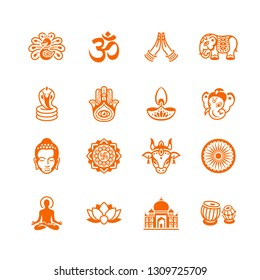 Spiritual, religious and culture icons of India