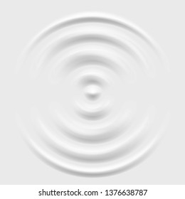 Splash ripple waves water surface decoration grey vector background illustration