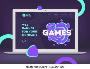 Splash Screen of the website.