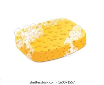 Bath Sponges Stock Vectors Images Amp Vector Art Shutterstock
