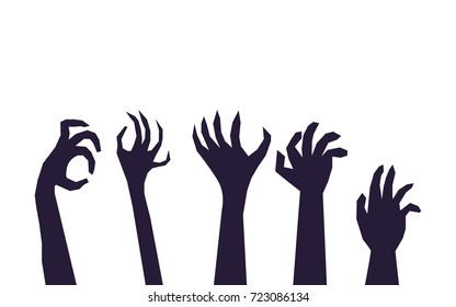 Zombie Hands Silhouette Images Stock Photos Vectors Shutterstock It's a completely free picture material come from the public internet and the real upload of users. https www shutterstock com image vector spooky zombie hands silhouettes vector illustration 723086134