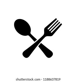 Spoon and fork Icon templates