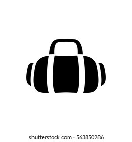 3cd2260c83 sport bag icon illustration isolated vector sign symbol