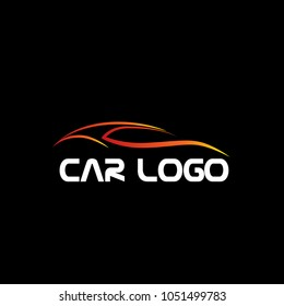 Sport Car Logo Design Tuning Car Stock Vector Royalty Free