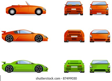 Sport cars.
