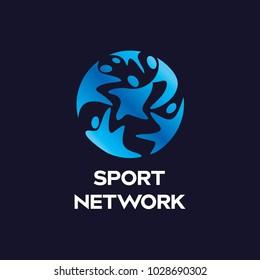 Sport, Dance, People, Athlete Logo Icon