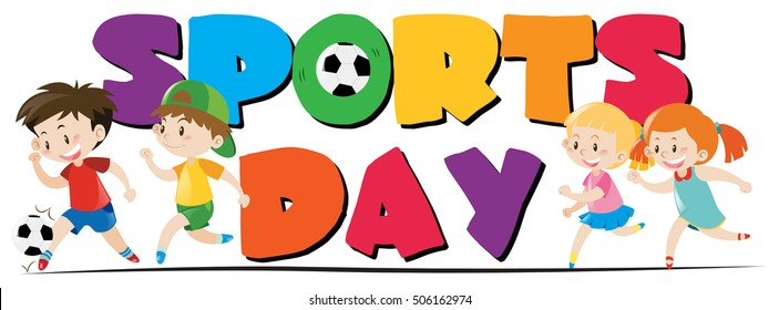 kids sports day images  stock photos   vectors shutterstock football team clipart black and white football team logo clipart