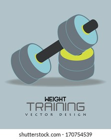 sport design over blue  background vector illustration