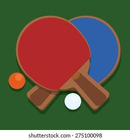 Sport design over green background, vector illustration.