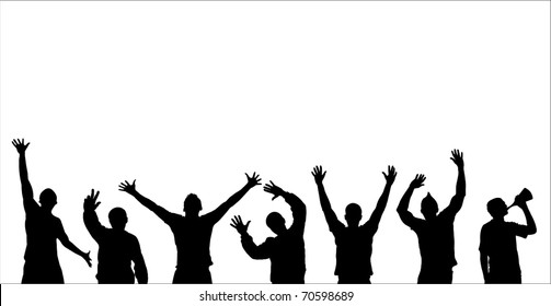 Supporter Fan Stock Photos Illustrations Clip Art Images