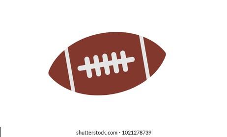 Sport football ball isolated vector illustration